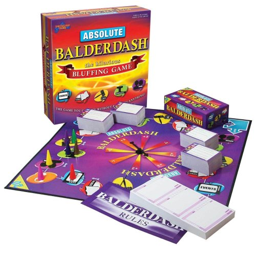 Drumond Park Absolute Balderdash Board Game