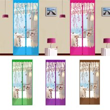 New Magic Door Screen Magnetic Mesh Net Anti Mosquito Insect Fly Bug Curtain UK