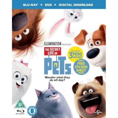 The Secret Life Of Pets Blu-Ray + DVD [2016]