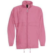 B&C Collection Mens Sirocco Plain Workwear Lightweight Zip Up Windbreaker Jacket