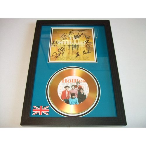 the hollies  signed disc