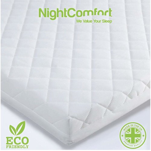 NightComfort Baby Waterproof Cot Bed Mattress
