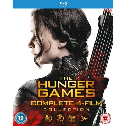 The Hunger Games - Complete Collection (4 Films) Blu-Ray [2016]