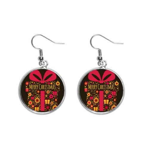 Christmas Gift Black Festival Ear Dangle Silver Drop Earring Jewelry Woman