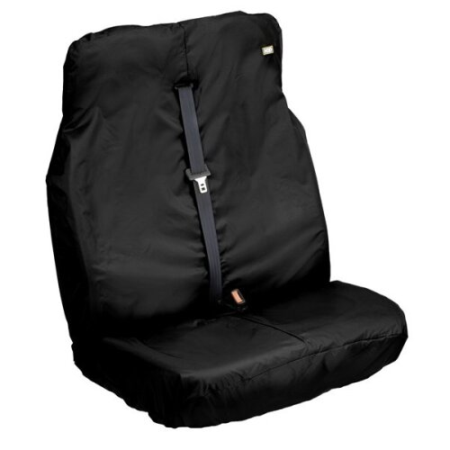 HEAVY DUTY DESIGNS Van Seat Cover - Double - Black [VBLK-291]