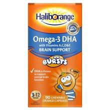 Haliborange Kids Omega-3 Chewy Orange tablets 90