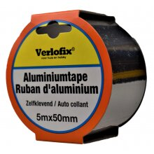 aluminium tape self-adhesive 50 mm x 5 m aluminium silver