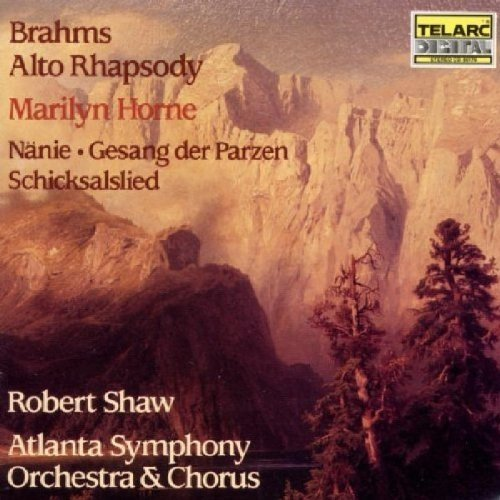 Robert Shaw - Brahms - Alto Rhapsody [CD]