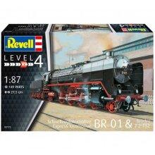 BR 01 & Tender T32 Express Train Locomotive Level 4 Revell Model Kit