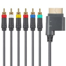 HD TV Component Composite Audio Video AV Cable for Xbox 360 (2.5M)