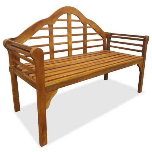 vidaXL Garden Bench 135 cm Solid Acacia Wood
