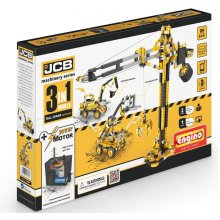 Engino JCB Tall Crane Motorized 3-in-1 Construction Set With Free kidCAD App Ages 6 Years+