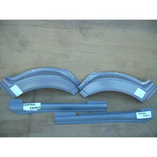 FORD TRANSIT MK6 & MK7  2000 TO 2013  NEW FRONT WHEEL ARCH & SILL SET BOTH SIDES 4PCS