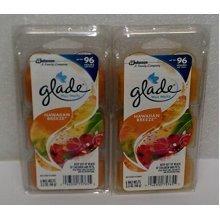 (2 Pack) Glade Limited Edition  Hawaiian Breeze  Wax Melts, 6 each