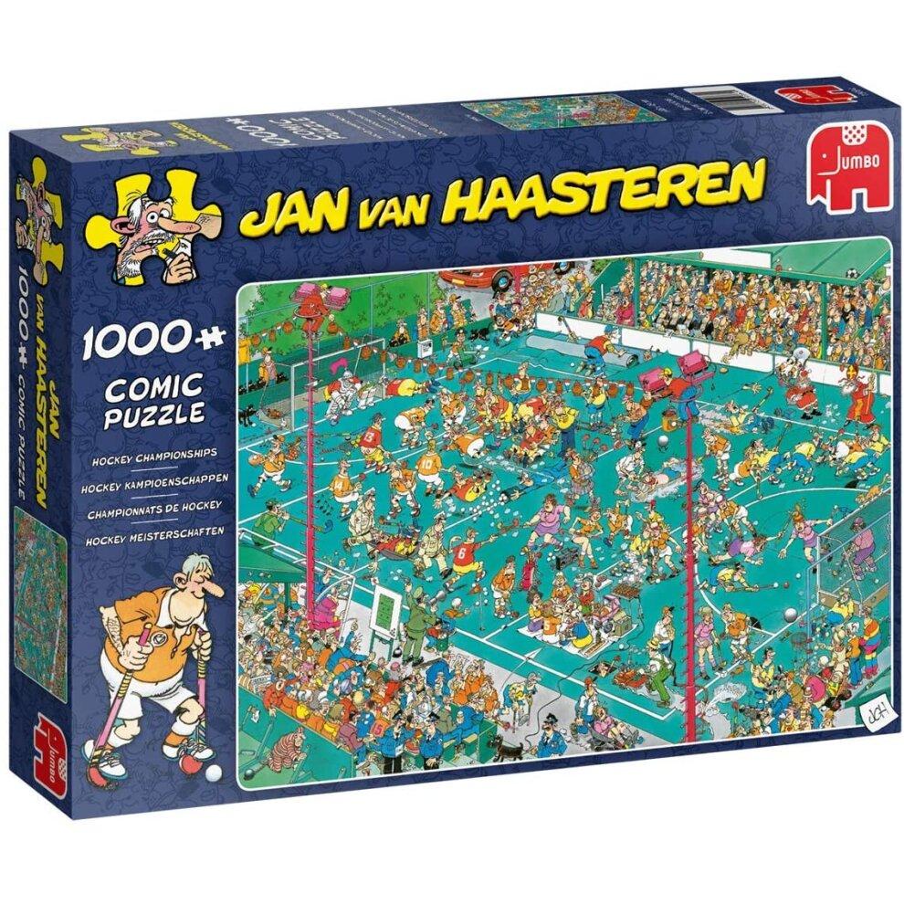 Jan Van Haasteren 1000 Piece Hockey Championships  Jigsaw Puzzle