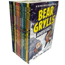 Bear Grylls Complete Adventure Series The Sea Challenge 12 Books