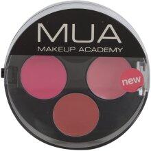 MUA Lipstick Trio Scarlet
