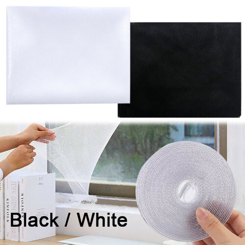 Insect Screen Window Mesh Net Home Anti-mosquito Fly Bug Moth Netting Spider