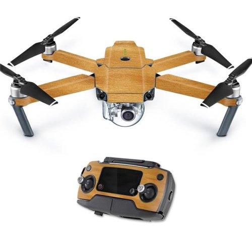 MightySkins DJMAVPRO-Birch Grain Skin Decal Wrap for DJI Mavic Pro Quadcopter Drone Cover Sticker - Birch Grain