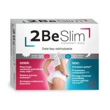 COLFARM 2 BE SLIM Day/Night Weight Loss Support 60 tablets Efektywne Odchudzanie