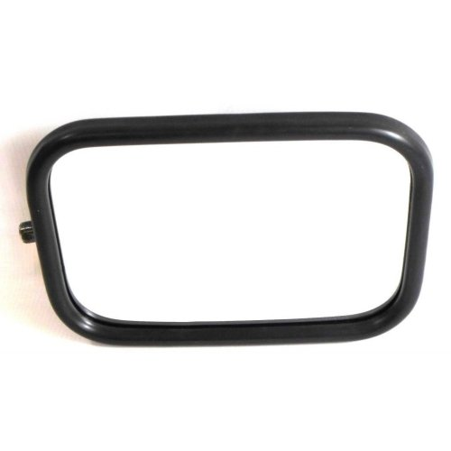 Land Rover Defender 1969-2006 Manual Wing Door Mirror Black Cover Passenger Side