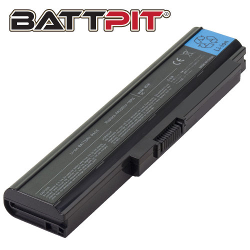 BattPit 6-Cell Li-ion Battery - 4400mAh 48Wh and 10.8V