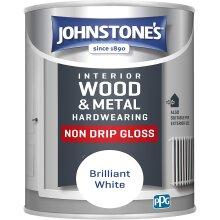Interior Hard wearing Non Drip Gloss Interior Paint Drip Resistant