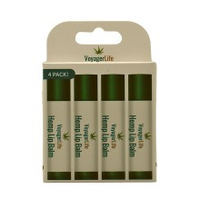 Hemp Lip Balm 4 Pack by Voyager Life