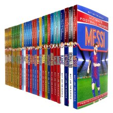 Ultimate & Classic Football Heroes MEGA 30 Books Collection Set