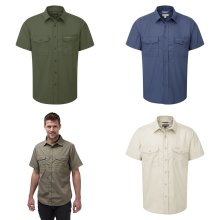 Craghoppers Outdoor Classic Mens Kiwi Short Sleeve Shirt