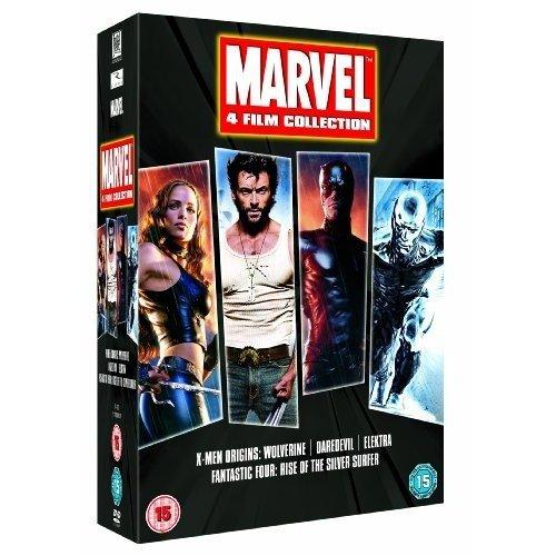 Marvel - X-Men Origins Wolverine / Elektra / Daredevil / Fantasic 4 - Rise Of The Silver Surfer DVD [2011]