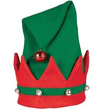 Elf Felt Hat with Bells | Christmas Gift Ideas and Accessory