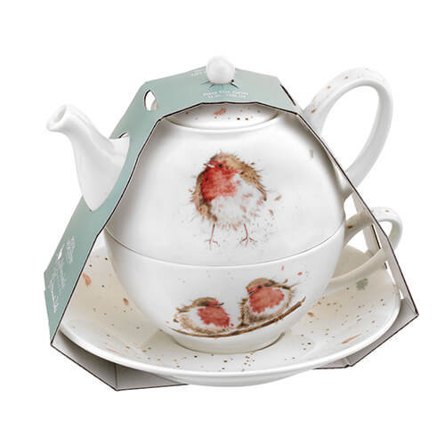 Royal Worcester Wrendale Tea For One With Saucer (Robbins)