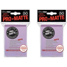 100 Ultra Pro Lilac PRO MATTE Deck Protectors Sleeves Standard MTG Pokemon
