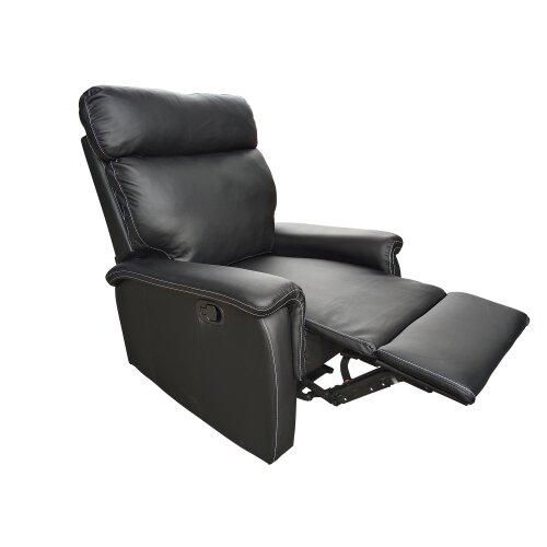 Venus PU Leather Recliner Chair in Brown or Black