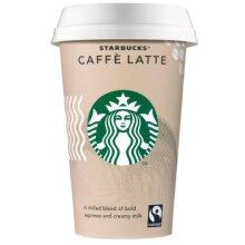 Starbucks Fairtrade Caffè Latte (4x220ml)