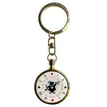 Disney Alice in Wonderland White Rabbit Clock Keyring