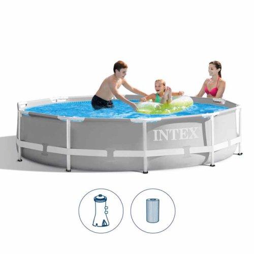 Intex Prism Frame Pool 10ft + Filter Pump