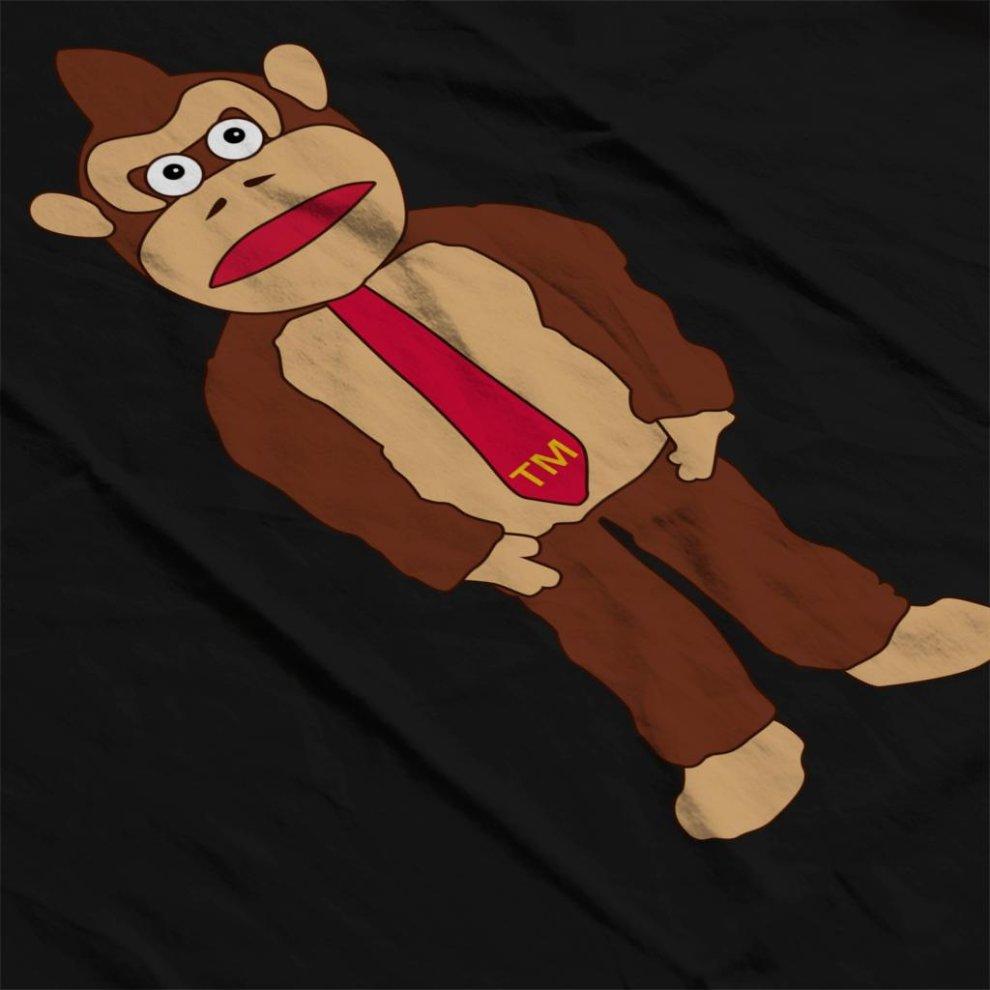 Donkey Kong Tm Tie Mens Sweatshirt