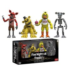 Five Nights At Freddy's Action Figures Toys 4PCS