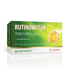 RUTINOWITUM C 150 tab przeziebienie grypa rutinoscorbin rutyna rutinovit