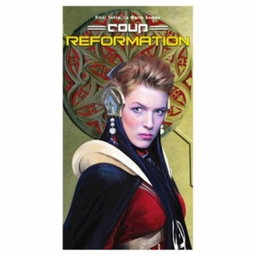 Indie Boards & Cards 2-10 Players IBCCOUR2 Coup-Reformation Expansion