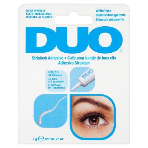 White/Clear DUO Eyelash Adhesive Waterproof Glue 7g .25oz