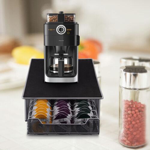 Coffee Rack Pod Machine Drawer