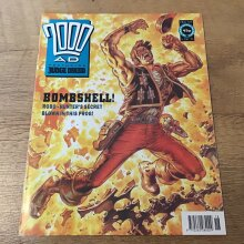 2000AD featuring Judge Dredd 1991 #729 Comic - Used