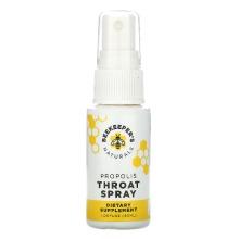 Beekeeper's Naturals, Propolis Throat Spray, 30ml