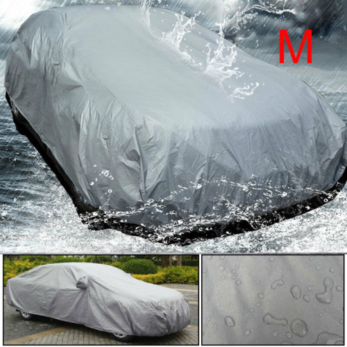 New Universal Full Car Cover Medium Size M UV Protection Breathable Waterproof M