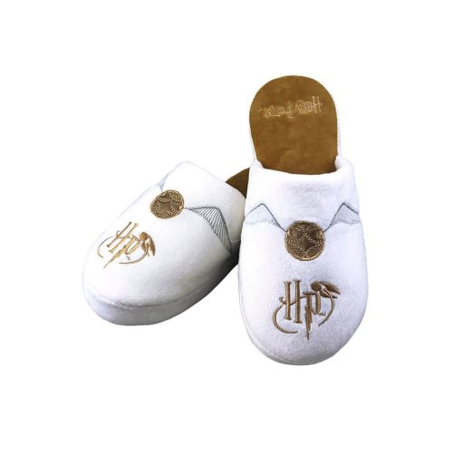 Harry Potter Golden Snitch Adult Mule Slippers