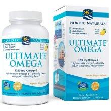Nordic Naturals  Ultimate Omega, 1280mg, Lemon, 120 softgels