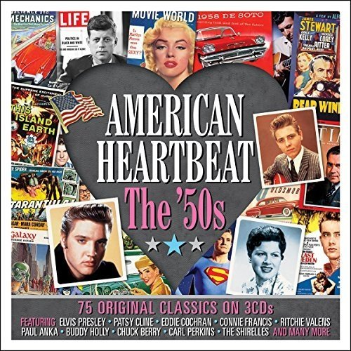 American Heartbeat - the 50s [3cd Box Set]